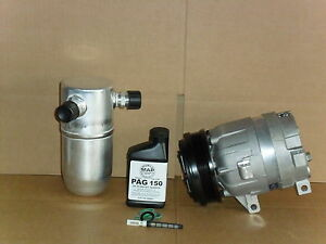 BuyAutoParts 60-80194RK New For Chevy Cavalier Pontiac Sunfire 1996-2002 AC Compressor w//A//C Repair Kit