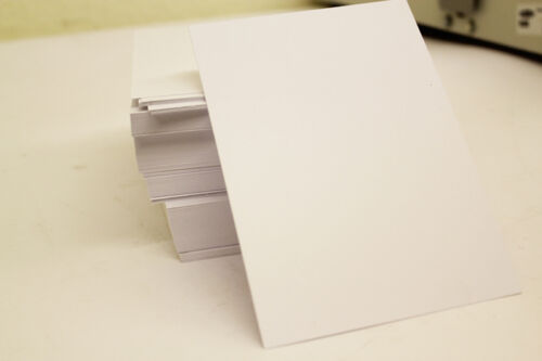 1-1000 A6 CARDS PLAIN WHITE 250gsm SHEETS  Craft Card 250gsm Cards 105mm x 148mm