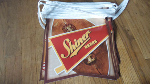 Shiner Beer Banner football Flag For Man cave Garage 20 flags Catch the pride