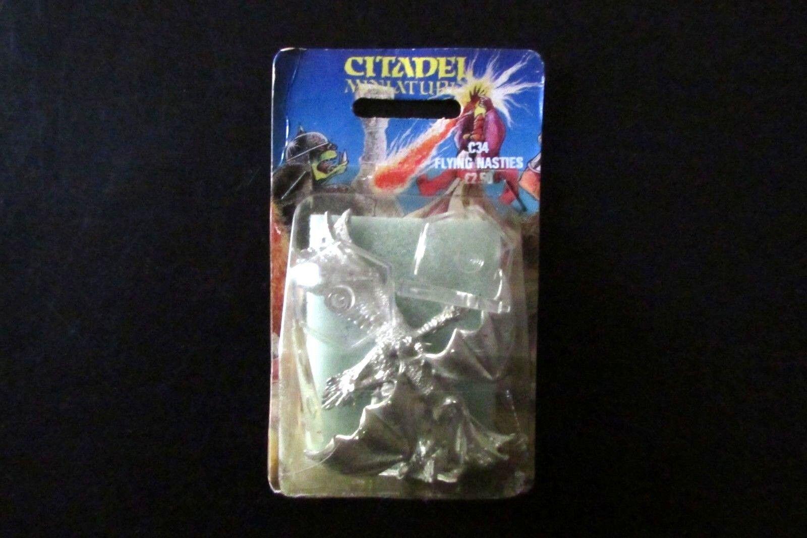 OOP Citadel   Warhammer Chaos Undead C34 Carrion & Giant Bat BNIB