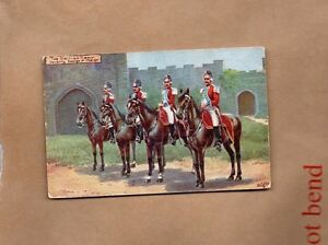 tucks-Oilette-British-Army-series-British-Cavalry-1714-27-unposted-art