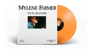 Mylene-Farmer-12-034-Plus-Grandir-Live-Tirage-Limite-Vinyle-Orange