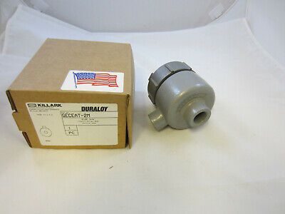 """NEW APPLETON 3//4/"""" MALL IRON CONDUIT OUTLET BOX EXPLOSION PROOF GRLB75"""