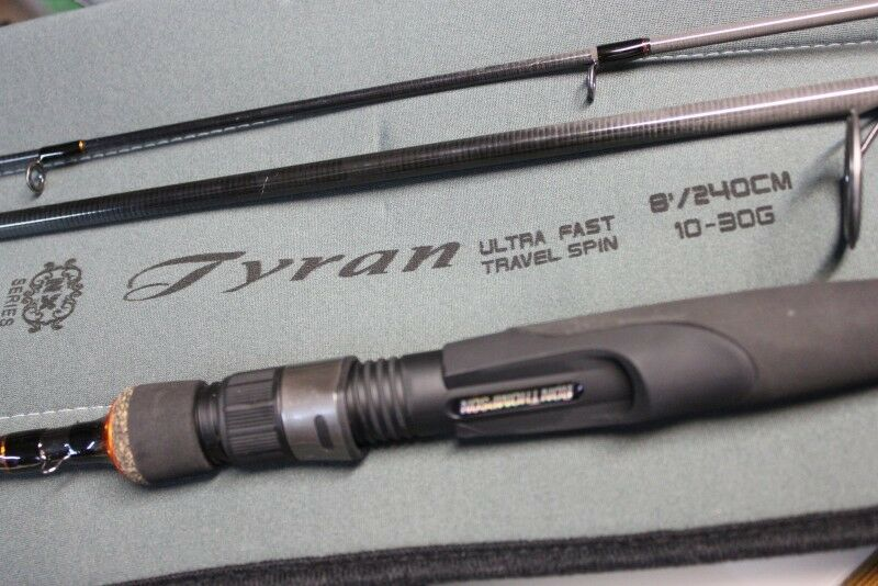 Ron Thompson Tyran Ultra Fast Travel spinning lure Rod 7ft 3pc or 10ft 4pc
