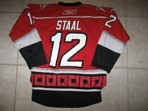 Image is loading 12-Eric-STAAL-Carolina-HURRICANES-OFF-LIC-RBK- fc65dad4c