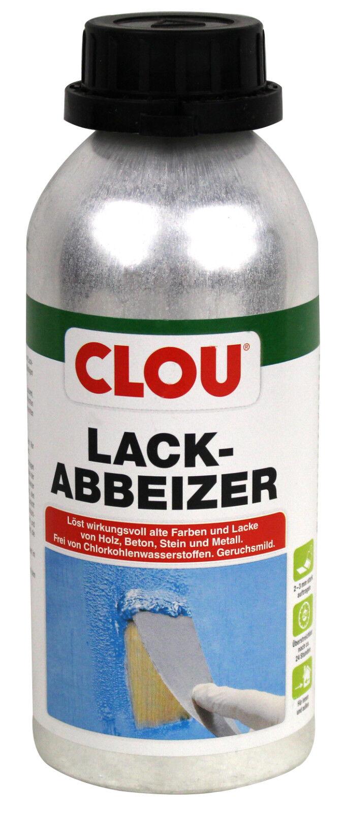aktion 500ml clou lack abbeizer universal | ebay