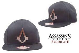 839f870dc57c3 Hat Assassin s Creed Syndicate Bronze Logo Snapback Cap Hat Bioworld ...