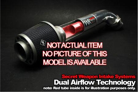 Cold Air Kit For 03-06 Infinity G35 Weapon-R Secret Intake Maf W// GrayPlug
