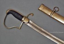 Antique Sword American War of 1812 US Light Artillery Sabre
