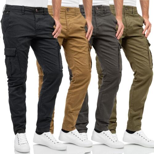 Funky Bouddha Hommes Sweat Pantalon Longtemps Jogger Cargo Pants fbm003-02219