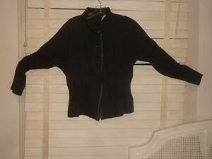 Peplum at Textured Tunikajakke bære ~ S Grey til Kunst m Sf Babette FxIwAq8C