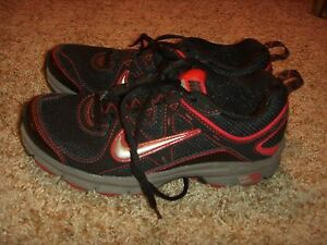 NIKE ALVORD 9 BLACK GRAY PINK WOMENS SIZE 6