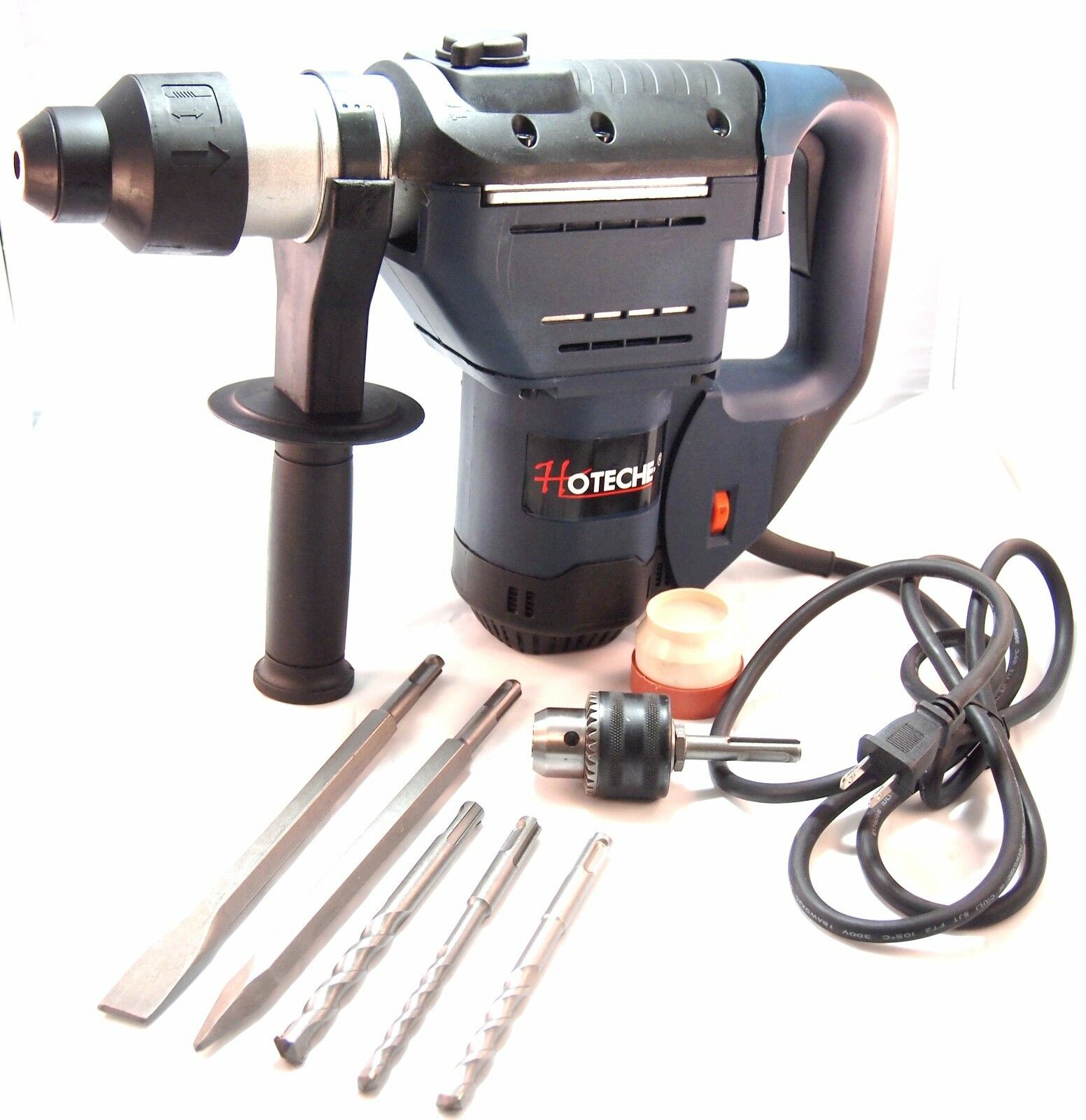 1-1 2  SDS Plus Rotary Hammer Drill 3 Functions