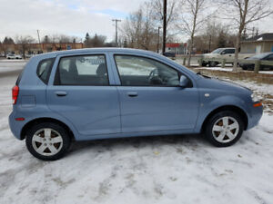 2008 CHEVROLET AVEO, SAFETIED, AUTOMATIC, CLEAN TITLE, LOW KM