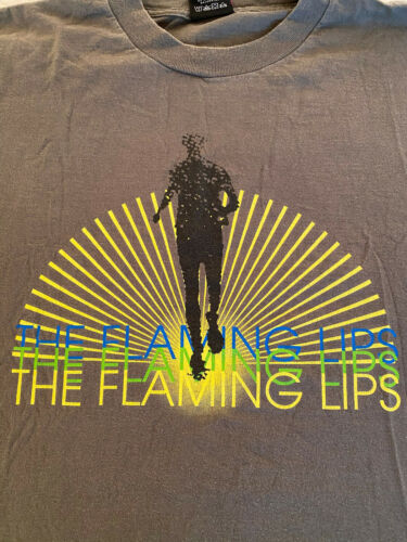 Vintage 1990s Flaming Lips Band T-Shirt Size XL -