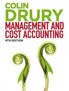Management and cost accounting student manual by colin drury stock photo fandeluxe Gallery