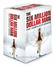 Six Million Dollar Man: Complete Series Seasons 1 2 3 4 5 + Movies DVD Boxed Set