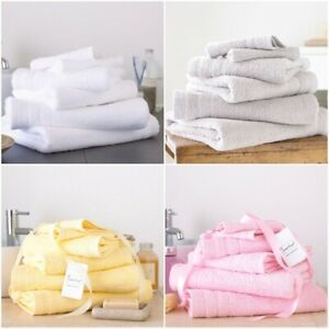 100-Egyptian-Cotton-500-GSM-8-Pcs-Bale-Towel-Set-Face-Hand-amp-Bath-Towels-Sheet