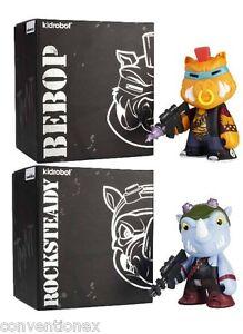 Sdcc Comic Con Nickelodeon Tmnt Kidrobot Bebop & Rocksteady Chiffres