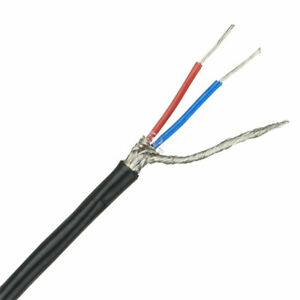RT44255 6-Core Alarm Cable 0.22m² Black