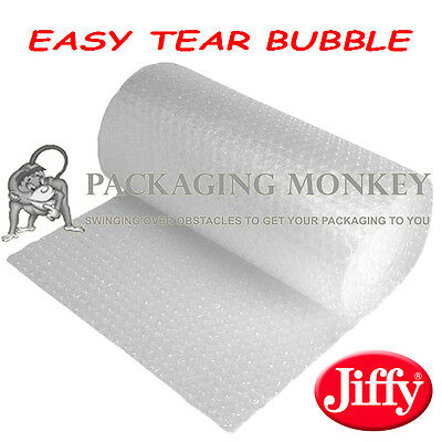 750mm x 2 x 100M ROLLS OF EASY TEAR JIFFY BUBBLE WRAP - 200 METRES