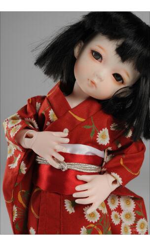 Maro Kimono Set 1//6 BJD YOSD USD  Dear Doll Size Red Dollmore