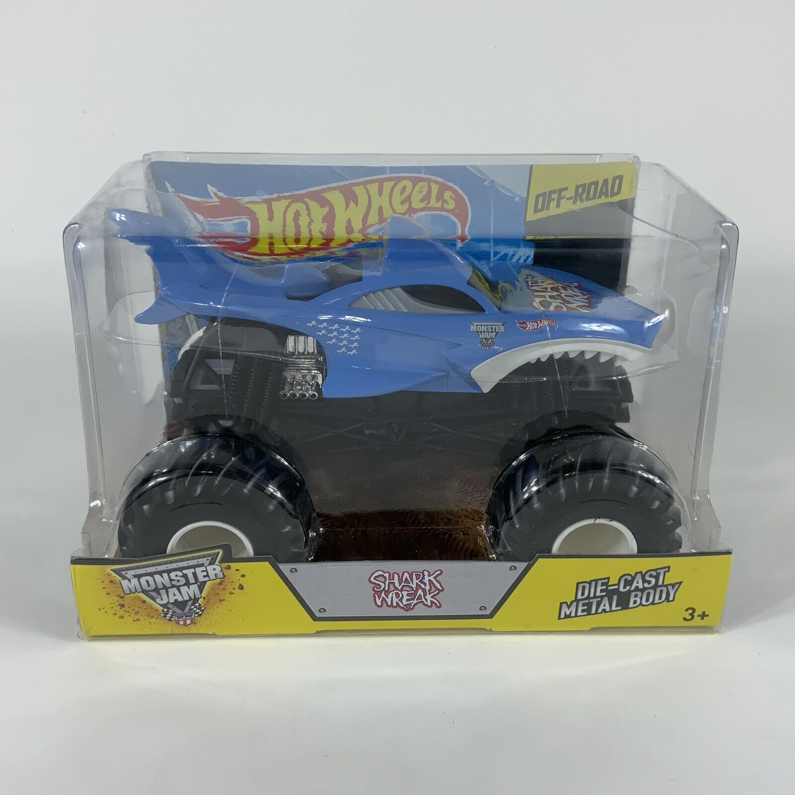 Hot Wheels Monster Jam 1 24 Shark Wreak Monster Truck 2014 For Sale Online