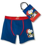 Snoopy Holiday Christmas Boxer Briefs Men's S M L Xl Xxl