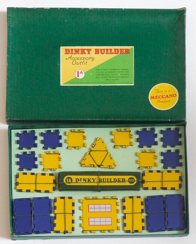 Meccano Dinky Builder (1a) Traje De Accesorios (en Caja)