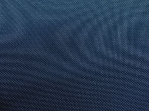 WATERPROOF HEAVY DARK BLUE  NYLON FABRIC 1000D PU BACK PER 5.5 MTR