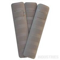 Troy Battle Rail Cover - 6.2″- 3-Pack - FDE - Flat Dark Earth - SCOV-BRC-36FT-00