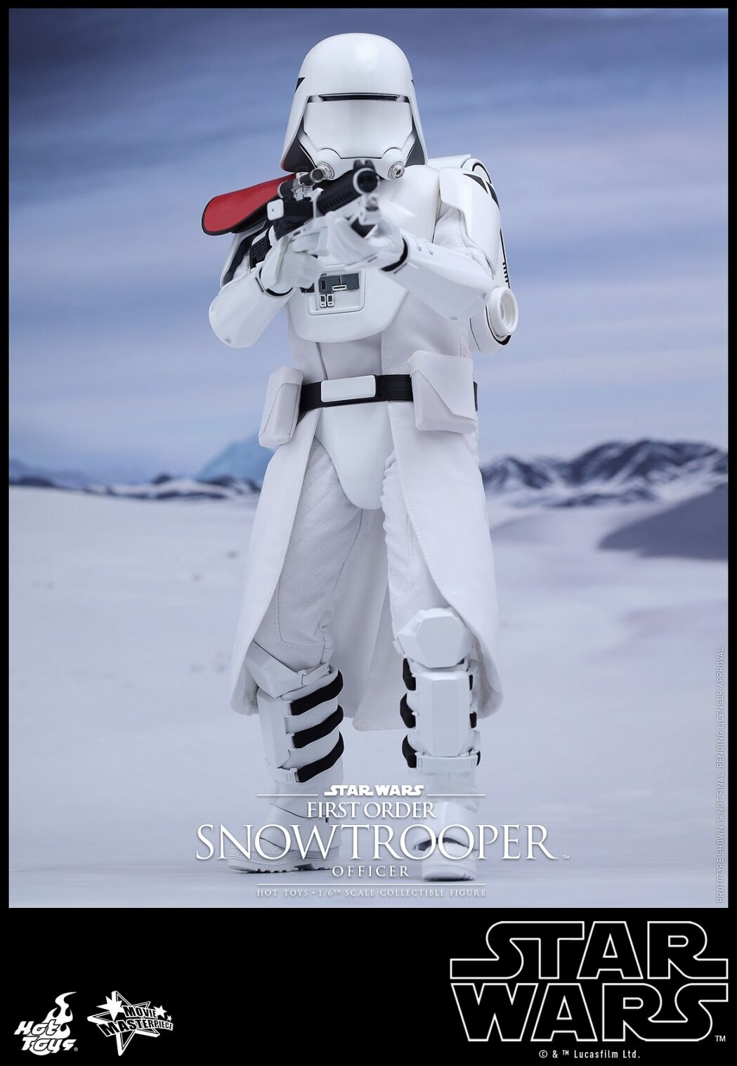 Hot Toys 1 6 Star Wars MMS322 primera orden Snowtroopers oficial Ver Figura De Acción