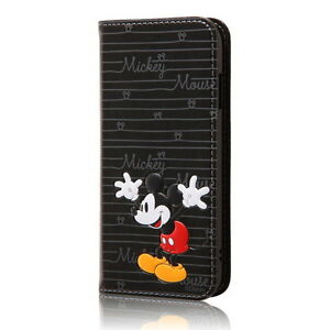Disney-iPhone-7-Popup-Book-Leather-Case-Mickey-Mouse-RT-DP12T-MK-Ray-out-New