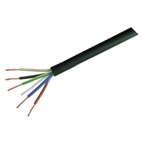 BLACK FLEXIBLE CABLE 3183Y 3184Y 3185Y 2 5 Core FLEX .75mm 1mm 1.5mm 2.5m 4 3