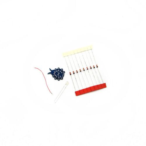 DIY Kit LED Flash Radiation Power Supply Mobile Phone GSM ICSK032A Signal
