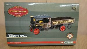 Corgi Cc20209 1922 Wagon à vapeur de Foden Whitbread & Co. Ltd éd.   N ° 0407 De 1510