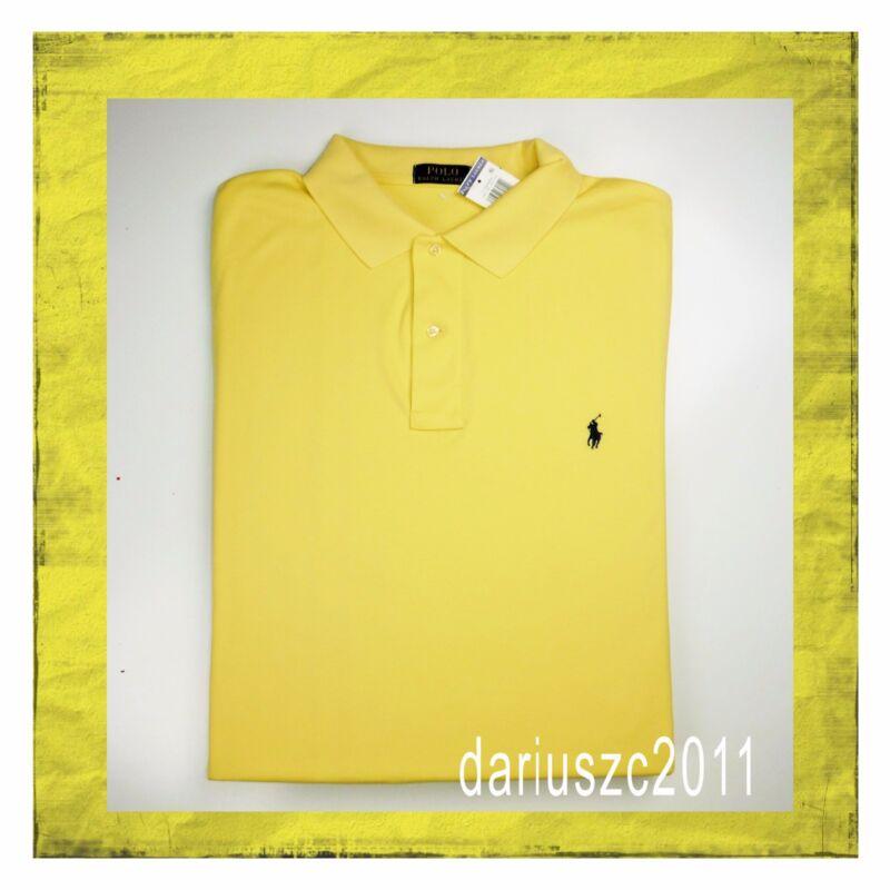 $74 Ralph Lauren Polo Short Sleeve Shirt Top Tee Size 1xb Yellow