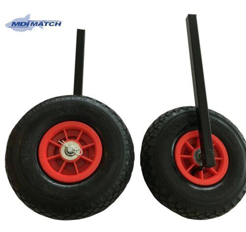 MDI match Matchman Duo Barrow Trolley Pneumatic wheels 20 mm Carré Jambe Set