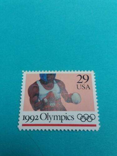 Summer Olympics Stamp 1992 Mint 2640#