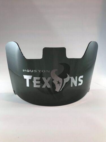 Laser Etched Universal Fit Texans Custom Made Full Size Football Helmet Visor