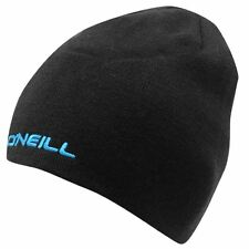 Oneill Corp Reversible Unisex Blue Black Beanie Hat BNWT Boarding Skiing Golf lm