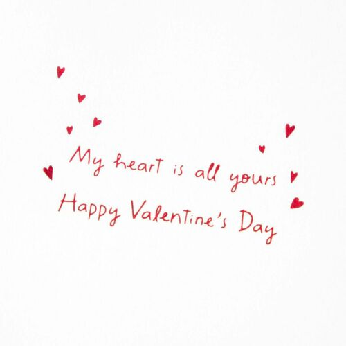 """PAPYRUS Valentine's Day Card Love Elephants LOVE YOU /""""My heart is all yours/"""""""