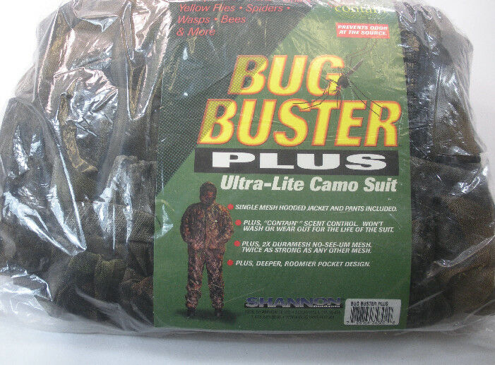 Shannon Außen BBX3-M Bugbuster Plus Bugsuit Mossy Eiche Bruch Up Medium 18365