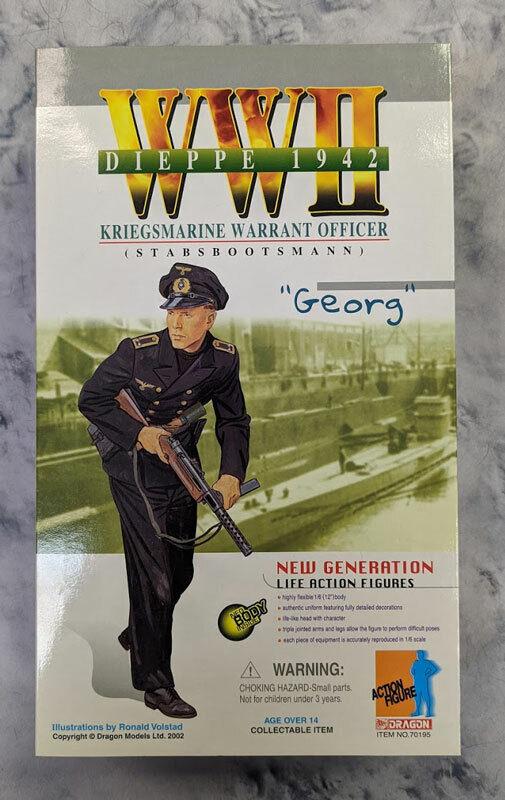 DRAGON 12  KRIEGSMARINE WARRANT OFFICER  GEORG  70195