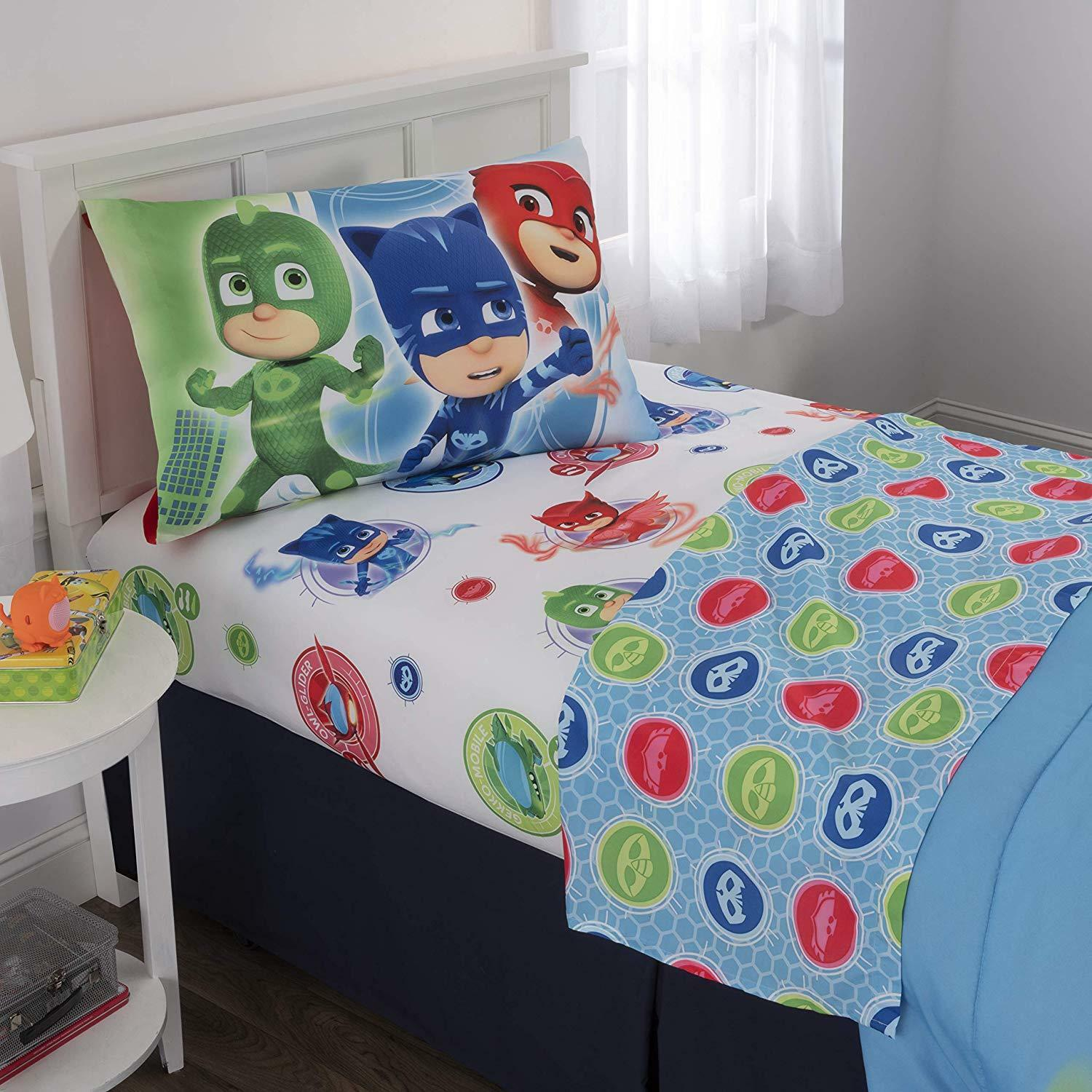 Duvet Cover Pj Pj Pj Masks Blanket Catboy Kids Single Boys Throw