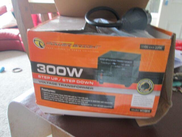 300W Step Up/Step Down Voltage Transformer