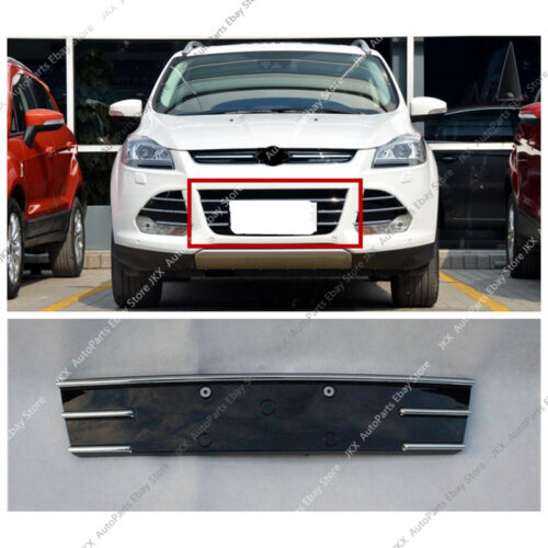 1pc ABS Chrome Front Bumper Center Lower Grille k Replace For Ford Escape 13-16