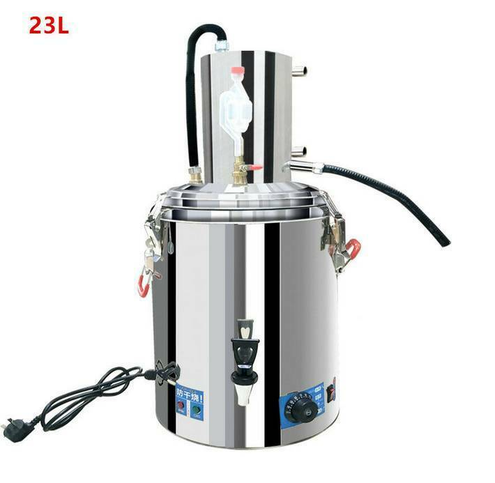one Stainless Steel Moonshine Still Alcohol Whisky Wine Alembic Still Brewing