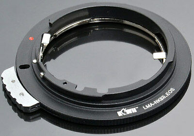 Objektivadapter für Nikon G/F Objektive auf Canon EOS Kameras (Objektiv Adapter)