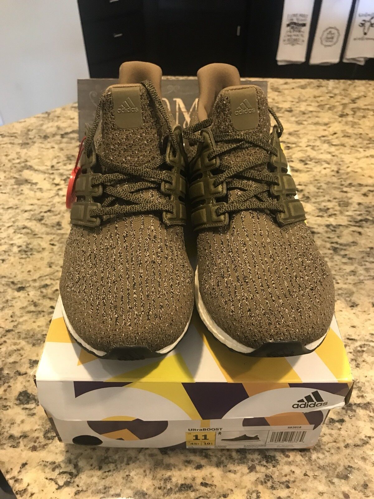 Adidas Ultra Boost 3.0 Trace Olive GREEN cargo S82018 Ultraboost Price reduction